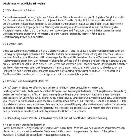 Disclaimer_peds-ansichten.de