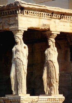 Akropolis: Karyatiden