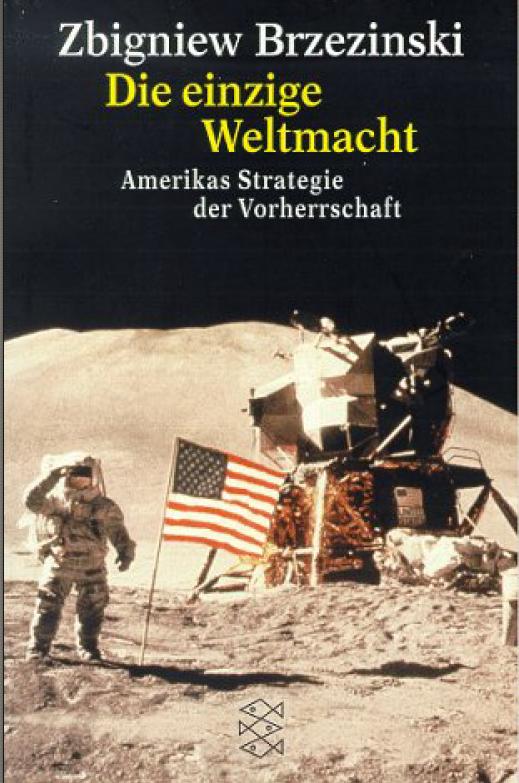 Die Einzige Weltmacht; Zgigniew Brzezinsk; 1997; Fischer-tbv; Cover