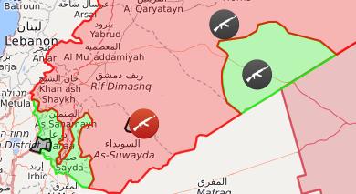 Syrien Karte Aktuell 2018.Syrien Holt Sich Seine Souveränität Zurück Linke Zeitung